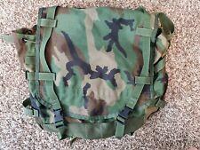 USED US Military MOLLE II Main Backpack Rucksack Woodland Camo USGI PLEASE READ