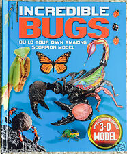 Incredible Bugs: Pop-Up Journey Insects - Beetles - Spiders 3-D Models Scorpion