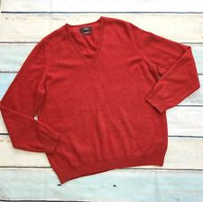 M & S Autograph Men's sz L EU 44 Red Cashmere Sweater