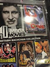 DVD  Amitabh Bachan Special  Blockbuster Hindi Movie with Subtitle  4 In 1 Movie