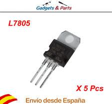 5 pcs L7805 Regulador de Voltaje 5V 1.5A TO-220  Electrónica Arduino - Nuevo !!!