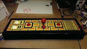 Control Panel for ZZYZZYXX BRIX - 1983 Cinematrics - w/ controls - SHIPS FREE!