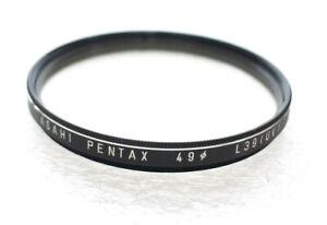 49mm Asahi PENTAX L39 UV Filter - PERFECT