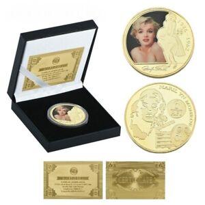 Marilyn Monroe Coin / Token in display case. BEAUTIFUL