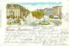 AK Gruss aus Mannheim  -  gel. 1900