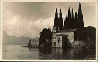 Lago di Garda Gardasee s/w AK 1930 gelaufen Blick auf San Vigilio Halbinsel