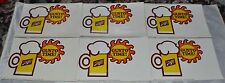 """Schlitz Beer """"GUSTO TIME"""" Sticker Referring to Go for the Gusto"""