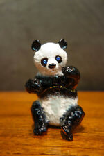 OLIVIA RIEGEL Crystal & Enamel Panda Box New in Box