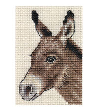 DONKEY ~ Complete original counted cross stitch kit