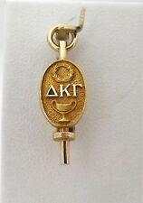 Retro 10K Gold Delta Kappa Gamma Sorority Fraternity Pin 1929  2.2Gr