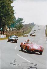 RARE Genuine Norman DEWIS Autograph Jaguar Test Driver SIGNED 12x8 Photo AFTAL