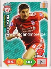 Adrenalyn XL Liverpool FC 11/12 - #043 Steven Gerrard - Squad