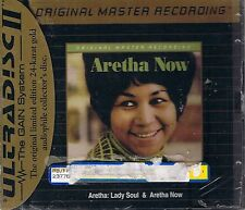 Franklin, Aretha lady soul & Now MFSL Gold CD neuf emballage d'origine sealed