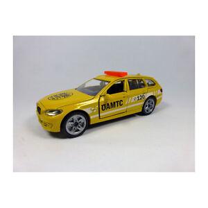 """Siku 1459 BMW 520i Touring """" Öamtc """" Breakdown Yellow Scale 1:55 (Blister) New"""