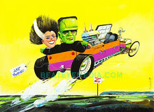 CAMPBELL-FRANKENSTEIN,WEIRD OHS,HOT ROD,RAT FINK,COMIC,ed roth,model kits,revell