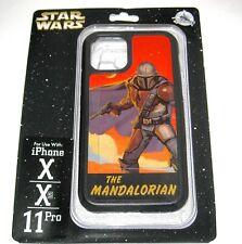 Disney Parks Authentic iPhone X XS 11 PRO Case The Mandalorian Star Wars Disney+