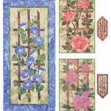 FLOWERING TRELLIS WALL HANGING QUILT PATTERN, from Garden Trellis Designs, *NEW*