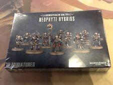 40K Warhammer Genestealer Cults Neophyte Hybrids NIB Sealed