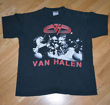 *1991 Van Halen* vintage rock concert shirt (M/L) F*ck N' Live Tour Sammy Hagar