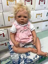 Monika Levenig Vinyl Puppe 58 cm. Top Zustand