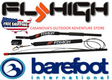 Barefoot International Deluxe Single/Straight Contour Boom Waterski/Wakeboard!