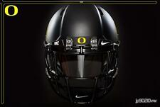 Oregon Ducks Football Helmet Front Rubber Bumper Full Size Riddell Speed *YELLOW