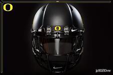 Oregon Ducks Football Helmet Front Rubber Bumper Full Size Riddell Speed 2016
