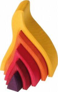 Grimm's Holzbausteine Feuer klein 10780