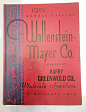 Wallenstein Mayer Co Wholesale Jewelers catalog 1955 annual Cincinnati nice cond