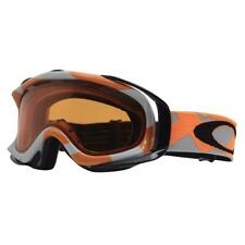 Oakley 57-419 AMBUSH Factory Slant Orange Grey Persimmon BONUS LENS Ski  Goggles 7db6b45eb14c