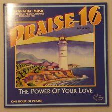 CD A Praise Band 16 Brand The Power of Your Love Maranatha Music 1997 Christian
