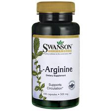 Swanson L-Arginine 500 mg 100 Caps