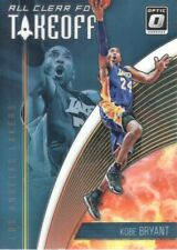 2018-19 Donruss Optic All Clear for Takeoff #15 Kobe Bryant Los Angeles Lakers