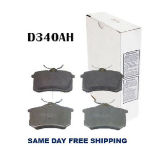 New Ceramic w/Hardware Rear Brake Pad For Audi A4,S4 Volks. Golf