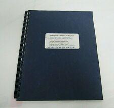 Kearney Trecker Tfr-25, Tf Series 315-330 & 415-430, Milling Parts Manual 1957