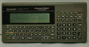 SHARP Pocket computer PC G830 Function Calculator vintage Tested Examined