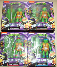 TMNT Turtles in Time Action Figures (All 4 Turtles) Neca
