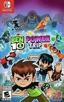 Ben 10 Power Trip - Nintendo Switch Brand New Sealed