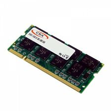 1GB, 1024MB Notebook RAM-Speicher SODIMM DDR1 PC3200, 400MHz 200 pin