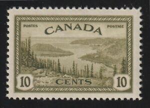 Canada 1946 - #269 King George VI Peace Issue (Great Bear Lake, NWT) - VF MNH