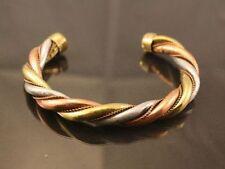 Men / Women Pure Copper Magnetic Bracelet Three Colour