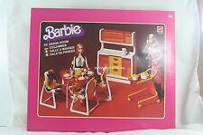 Barbie mod furniture set dining room dream house 1977 no. 2152 NRFB Very RARE!