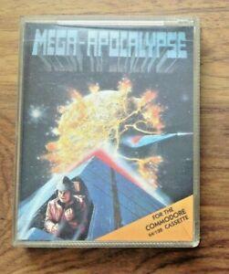 Mega-Apocalypse - Commodore 64 C64 - Martech - Free UK Postage