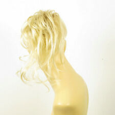 postizo coletero peruk cabello rubio muy claro dorado ref: 22 en ys