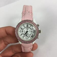 Chanel Ladies Watch J12 Ceramic White Pink Alligator Ruby Premiere Black Exotic