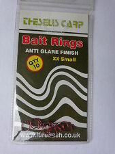 Theseus Carp bait rings for use with multiple maggots 10 xx small Red