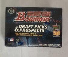 2001 Bowman Draft Picks and Prospects Factory Set Ichiro RC 1 Auto Relic