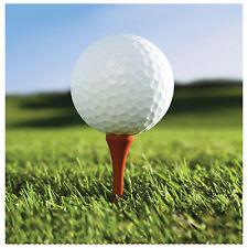 18 x Golf Theme Party Beverage Napkins Golf Ball napkins Sports Party FREE P&P