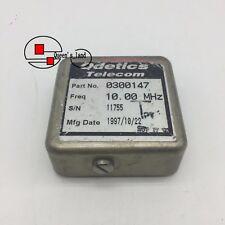 1used Odetics Telecom 0300147 10mhz 12v Sine Wave Ocxo Crystal Oscillator