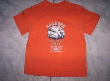 """Cooles """"Esprit""""- Shirt, orange mit """"SAMBURU""""-Motiv, neuw.Gr.74"""